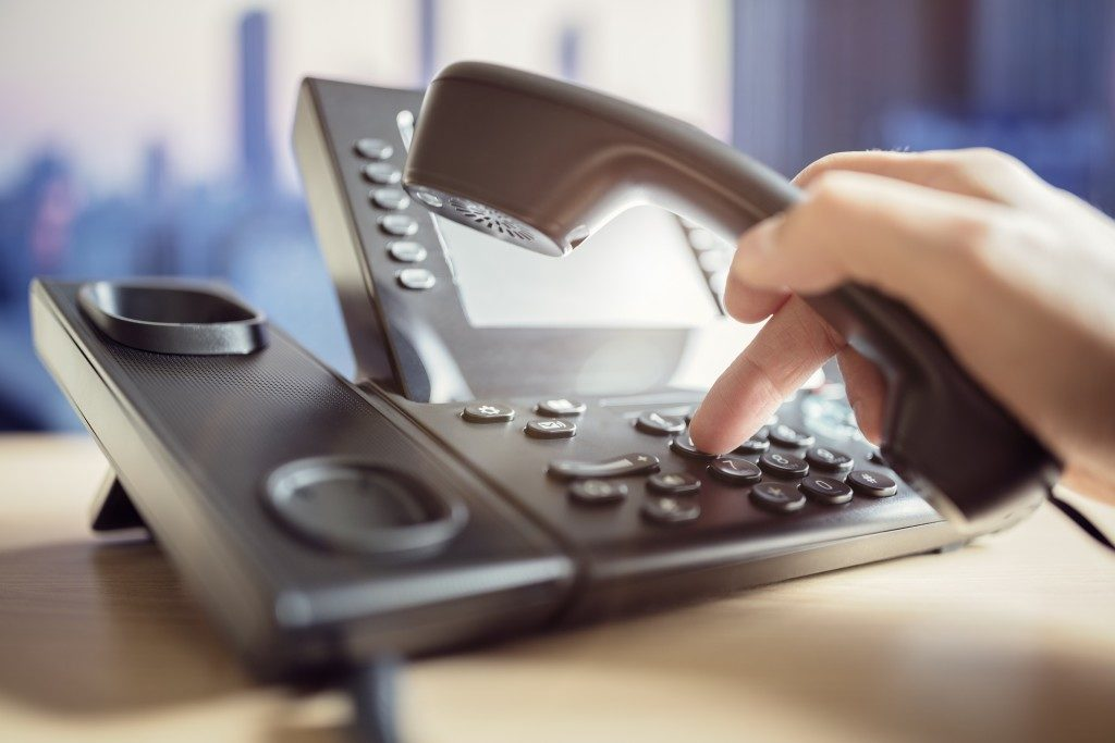 work telephone