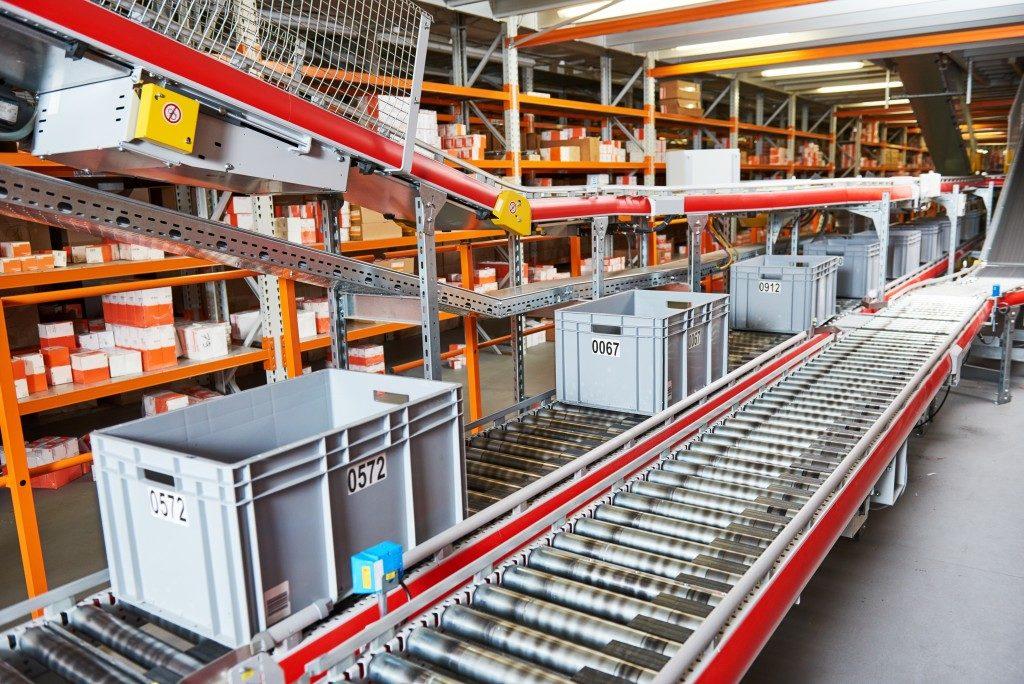 conveyor system for easy transfer