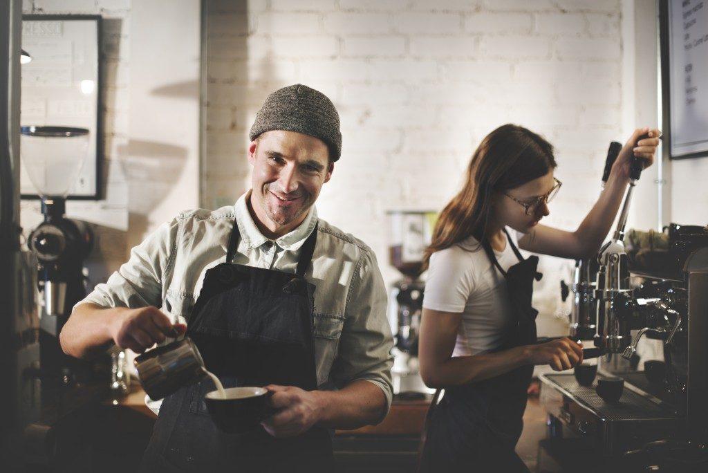 Barista Coffee Shop Waiter Waitress
